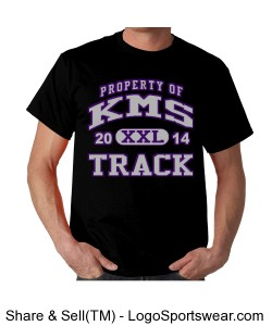 KMS Track T-shirt Design Zoom